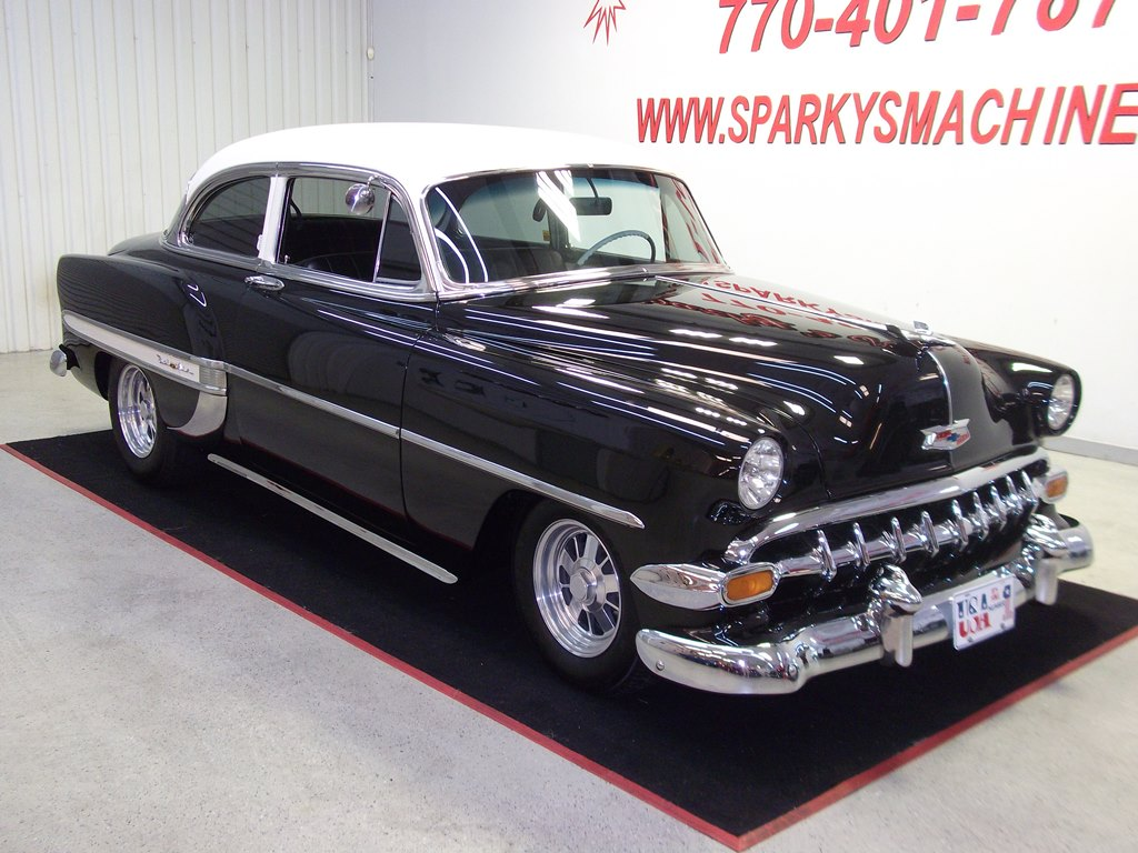 1954 Chevrolet Bel Air Sparkys Machines Be Sure To See The Video Of This Amazing Chevy Car Is Laser Straight And Runs As Good It Looks